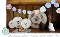 Button-bunting- free printable buttons
