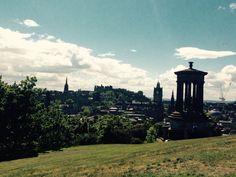 Edimburgo rebosa  literatura allá donde vayas.