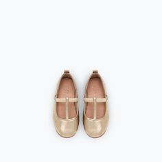 Image 4 of T-BAR BALLERINAS WITH ELASTIC BUCKLE from Zara