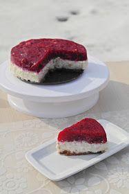 málnás tejberizs torta
