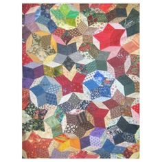PATCHWORK QUILT (Simulated) Fleece Blankets