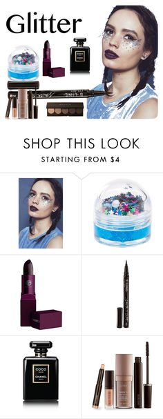 """""""Glitter lips!"""" by mckennabelle-1 on Polyvore featuring beauty, In Your Dreams, claire's, Lipstick Queen, Smith & Cult, Chanel and Laura Mercier"""