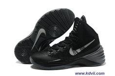 Black/Metallic Silver Nike Hyperdunk 2013 Sale