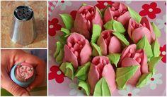 Бесплатная доставка сопла крем тюльпан лепесток три торт обледенение трубопроводы насадка советыкупить в магазине Ihome cookerнаAliExpress