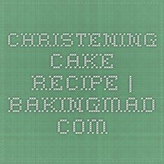 Christening Cake Recipe | BakingMad.com