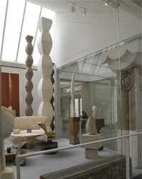 Super cool exhibit at Centre Pompidou peers inside Brancusi studio spaces.