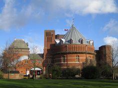 The Royal Shakespeare Theatre, Stratford-upon-Avon, England.
