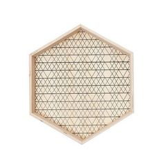 Give your coffee table some love and style -- These light-weight Hexagon Wooden Trays feature geometric patterns and are ideal for use as serve ware or as the feature piece of your coffee table #hexagontray #homedecor #forkeepsstore