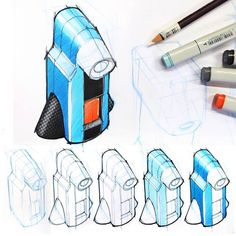 Design Sketching - Exploratory Sketching is an assignment for ID students at the Technical University Eindhoven by Martijn van de Wiel.