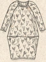 """""""Tulip"""" modal dress – Dresses – GUDRUN SJÖDÉN – Webshop, mail order and boutiques   Colorful clothes and home textiles in natural materials."""