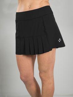 50ec6118f8 JoFit Ladies & Plus Size Dash Pleated Tennis Skorts - Melon Ball (Black)