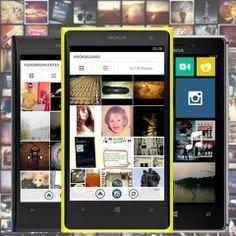 Instagram your photos on your Nokia Lumia