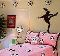 soccer room decor soccer girl wall art girlspicabooartstudio