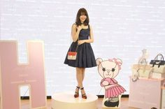 『小嶋陽菜×Sweet×Samantha Thavasa』スペシャルコラボショップオープニングイベントに出席した小嶋陽菜 (C)ORICON NewS inc. #Haruna_Kojima #小嶋陽菜 #AKB48