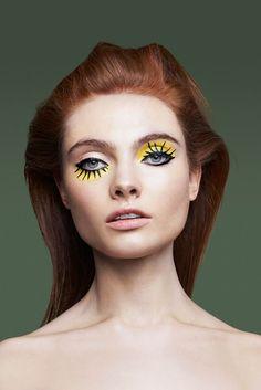 Необычные фотосессии, яркий макияж. unusual photos, bright makeup