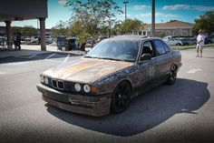 BMW Rat Rod