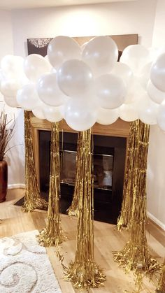 Follow us on Instagram - @yeseventdecor! These festive balloon decorations are perfect for any occasion - birthdays, engagement parties, weddings, and more! Click below to see more event decorations.