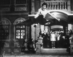 Bruce Lee in Fist of Fury.