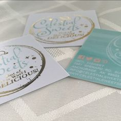 "What are you waiting for? Get your fancy gold business cards today. www.ShaynaMade.com⭐️⭐️⭐️⭐️⭐️ ""I absolutely love the design & colors! Shayna was amazing to work with! I need rack cards & will definitely use her for that if she's up for it."" ~ Liz  #shaynamade #celestialsweets #businesscards #goldfoil #goldfoilbusinesscards #goldbusinesscards #girlboss #etsyshopowner #plannergeek #bloomyellow #creativityfound #squarebusinesscards #momboss #madeinnc2016 #madeinnc #doitdowntown #cakeartist…"