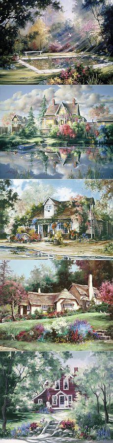 Творчество художницы Марти Белл.