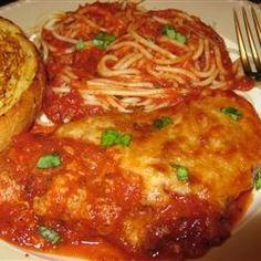 Recipe for Chicken Parmesan, Homemade Italian Food Recipes- MissHomemade.com