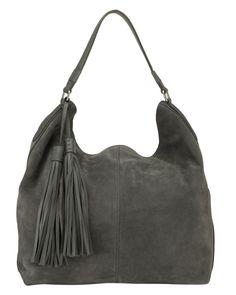 Harper Suede Hobo Bag