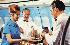 When airline food was posh
