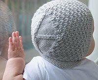 Vintage-Style Baby Bonnet - free - Ravelry : http://www.ravelry.com/patterns/library/modern-baby-bonnet:
