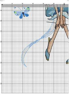 Gallery.ru / Фото #3 - 7 - ergoxeiro Fantasy Cross Stitch, Cross Stitch Fairy, Cross Stitch Angels, Cross Stitch For Kids, Cute Cross Stitch, Cross Stitching, Cross Stitch Embroidery, Embroidery Patterns, Cross Stitch Patterns