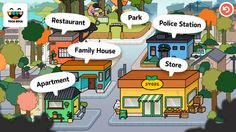 Toca Town - a digital town where kids rule. FREE for a limited time.