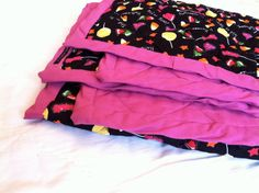 I Want Candy Trick or Treat Halloween Throw Quilt by APhoenixTale