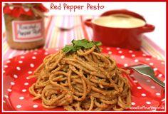 Eat Your Veg | Easy Homemade Roasted Red Pepper Pesto