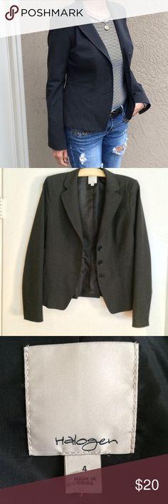 Nordstrom Halogen Blazer Nordstrom Halogen 3 button brand blazer. Fully lined. Great condition! Nordstrom Jackets & Coats Blazers