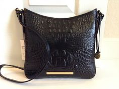 Brahmin Jody Crossbody Black Melbourne Leather H7899BK | eBay