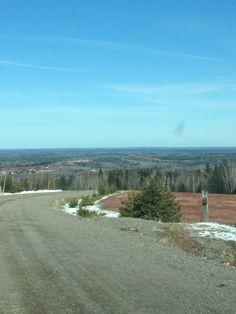 On top of westchester mountain Nova Scotia