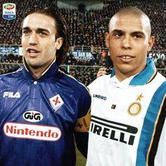Ronaldo with batistuta