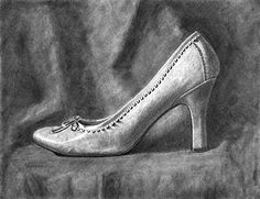 shoe as subject matter-nice drawing