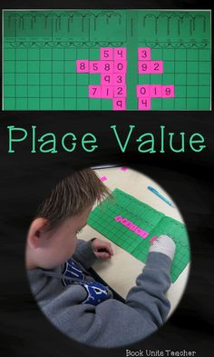 Place Value Interactive Notebook & Activity Unit contains graphic organizers for an interactive notebook and game-like activities covering place value and understanding numbers. $
