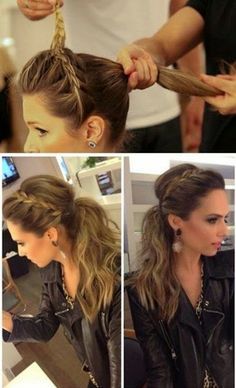 Love the hair..this lady looks kinda like Scarlet Johannson in the bottom right pic