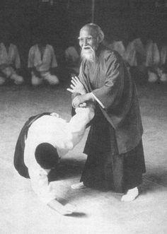 Morihei Ueshiba - Aikido founder