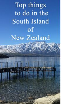 This travel guide is about the South Island of New Zealand, in this guide you will read about where the best places are to go and grab something to eat, what activities to do and recommendations on where to stay. For everything you need to know about the South Island of New Zealand read more here - http://borntobealive.blog/welcome/destinations/south-island-new-zealand/ #southislandnewzealand #newzealand #nz #blog #travel #travelling #blogger #travelblog #snow #mountains #lake…