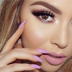 """@jadeywadey180 looking stunning wearing Vegas Nay @toofaced palette on eyes & @blinkingbeaute Lashes in Samantha  _ #vegasnay4toofaced #vegas_nay"""