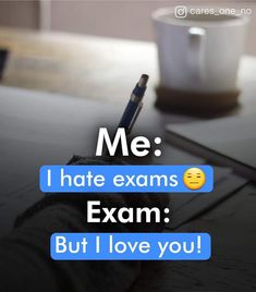 I like xamz 😊😊 Exam Quotes Funny, Exams Funny, Funny True Quotes, Snap Quotes, Funny School Jokes, Smile Quotes, Cute Quotes, Study Motivation Quotes, Study Quotes