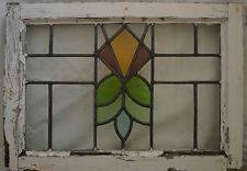 Art deco leaded light stained glass window. R270b. WORLDWIDE DELIVERY!!!