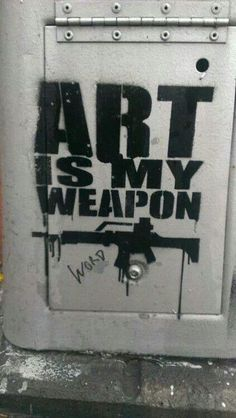 Art is war