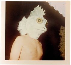 project B - anonymous vintage photos turned into big, limited edition prints! <3