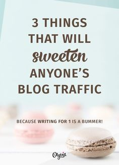 How to get more blog
