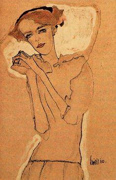 Egon Schiele by Egon Schiele (1890-1918): Austrian  http://www.all-art.org/art_20th_century/schiele2.html
