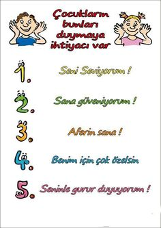Turkish Language, Special Education, Kids And Parenting, Psychology, Literature, Preschool, Alcohol, Blog, Activities