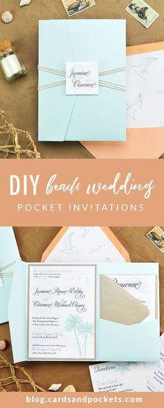 40 best pocket wedding invitations images in 2018 pocket wedding